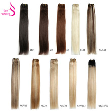 Real Beauty European Straight Hair Weave Bundles 18