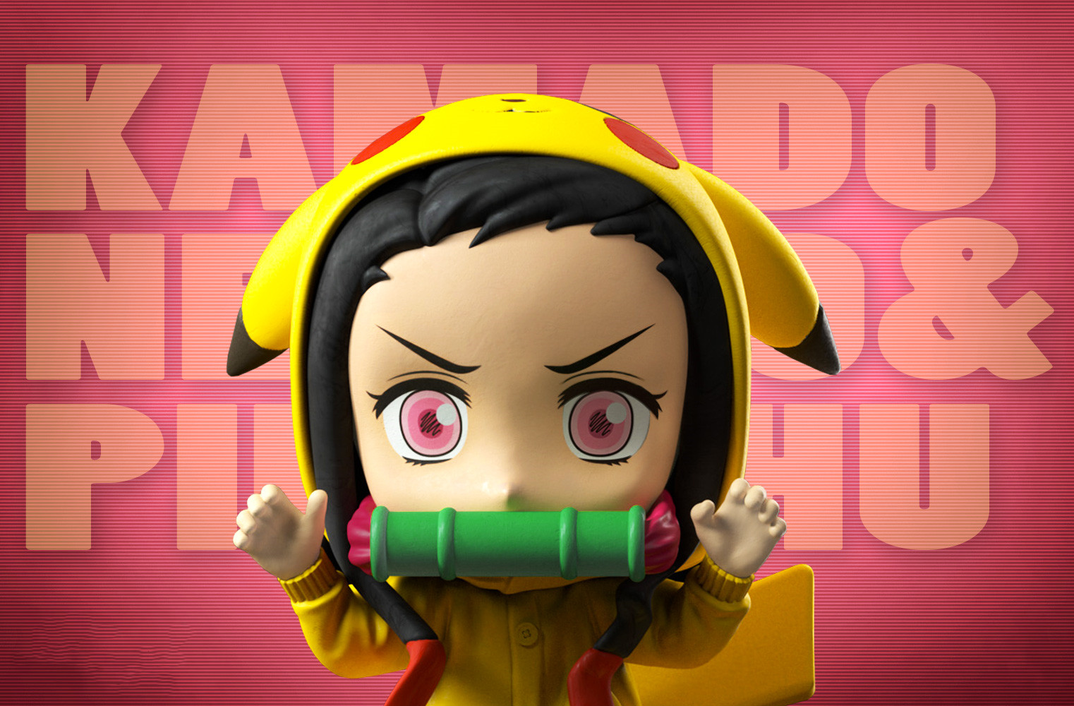 Anime Figure Demon Slayer Kimetsu No Yaiba Kamado Nezuko Cute Toys for Kids Collectible Model PVC Doll