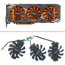 цена на 75mm GA81S2U  VGA GPU Cooler fan Replace for ZOTAC Geforce GTX980 GTX 970 AMP GTX 980-4GD5 GTX960 HA Edition 4G Graphic Card fan