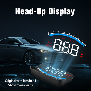 Image 2 - WiiYii HUD M6S Car Head up display Auto Electronics KM/h MPH OBD2 Overspeed Security Alarm windshield Projector display car