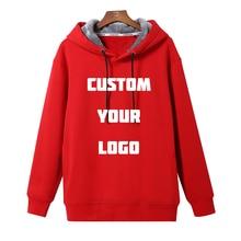 Advanced Customized Mens Hoodies Custom Print Logo Design Fleece Hoodie Fashion Autumn Thicken Coat Sweatshirts High Quality