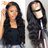 Full Lace Wigs Body Wave Lace Frontal Human Hair For Black Women Malaysian Full Lace Frontal Long Hair 150% Density Wigs