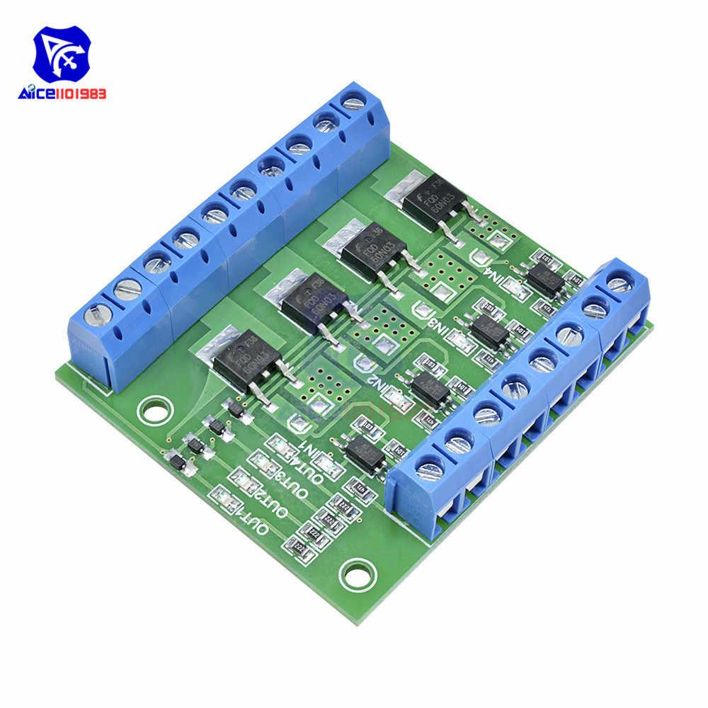 Mos fet 4 チャンネルパルストリガスイッチコントローラ pwm 入力定常モーターの led