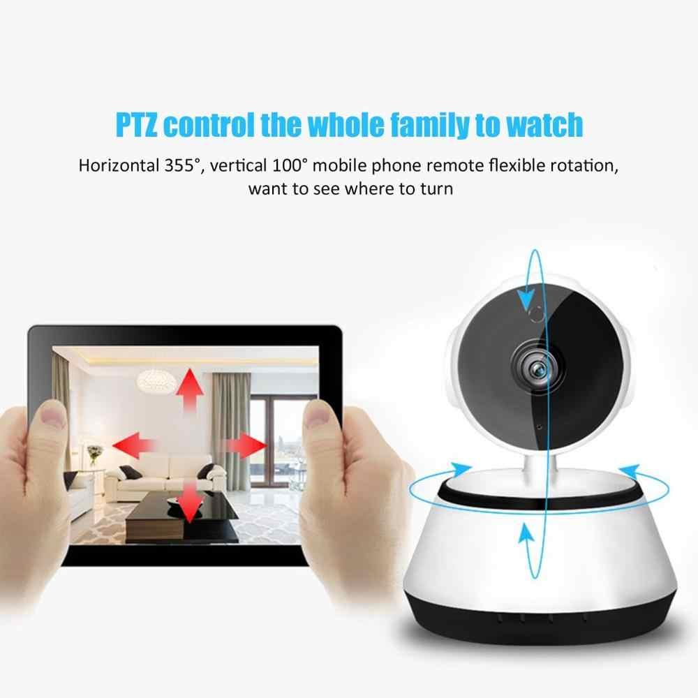 V380 2.1mm lente de segurança em casa 720 p sem fio mini wifi visão noturna câmera ip inteligente câmera vigilância monitor câmera dome sony