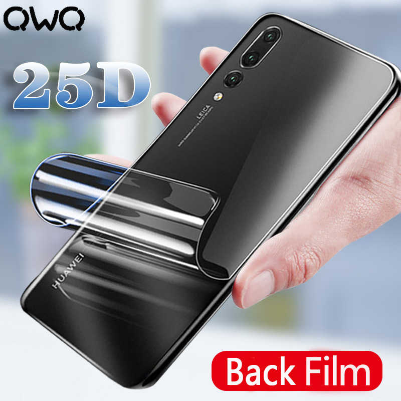 25D Full Cover Hydrogel Film For Huawei P30 P20 Lite Screen Protector For Huawei Mate 30 20 Pro P Smart 2019 Back Film Not Glass