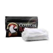 Algodão bacon vape algodão algodão algodão orgânico algodão para cigarro eletrônico rebuildable rda rba atomizador diy fio de aquecimento