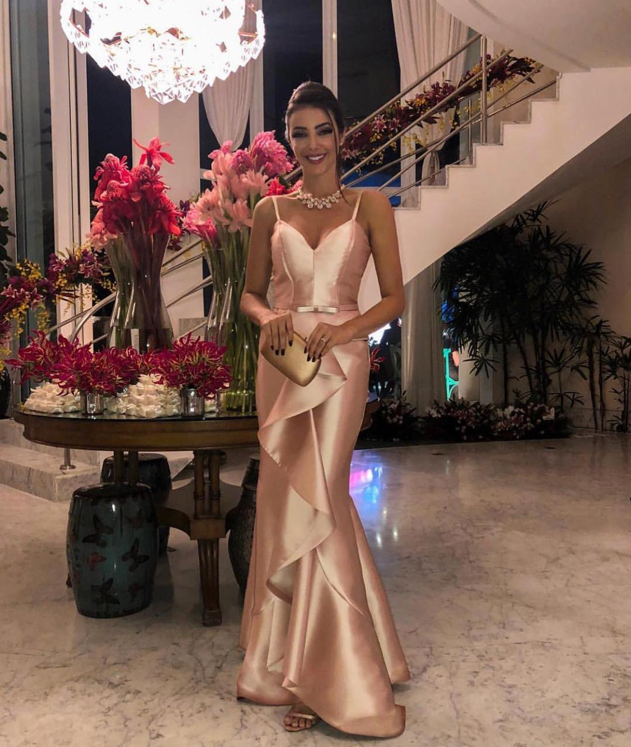 Robe De Soiree Abendkleider Evening Formal Dress Gown Long 2019 Mermaid Prom Cocktail Dresses