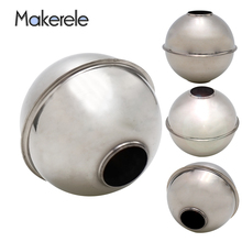 цена на Float Switch Liquid Level Ball Accessories Mk-75*72*23 Water Flow Sensor Stainless Steel Magnetic Stainless Steel Ball Float