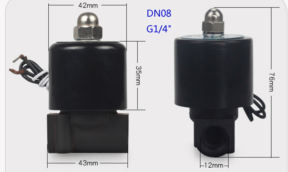 H598f482b0aa94d51bbb7dce87c2a68a6Y - DN08/10/15/20/25/32/40/50   AC 110V AC 220V DC 12V DC 24V Plastic normally closed solenoid valve water valve switching valve