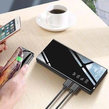 Batterie externe 6500 mAh/10000 mAh Chargeur Portable Pour Iphone/OPPO Android Externe Mobile chargeur de batterie Portable