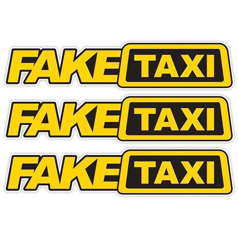 Автомобильная наклейка Дрифт турбо Хун гоночный автомобиль поддельные такси забавная гладкая и прочная яркая Наклейка ПЭТ автомобиль экст...
