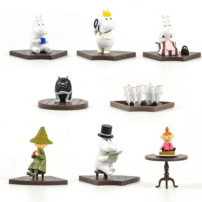 Japan Capsule Toys Anime Cute Kawaii Hippo Animal Fairy Tale Blind Box Gashapon Figures Desktop Kids Toy