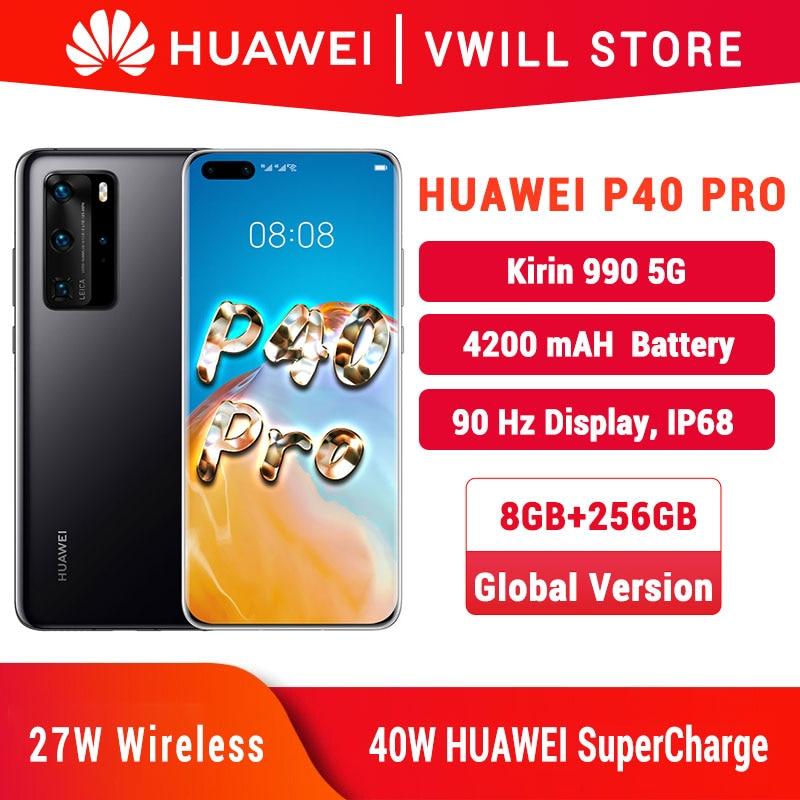 Global Version Huawei P40 Pro 5G MobilePhone 6.58 '' Kirin 990 8GB 256GB Bluetooth 5.1 Face unlock Gesture Sensor SA/NSA WiFi 6|Cellphones| - AliExpress