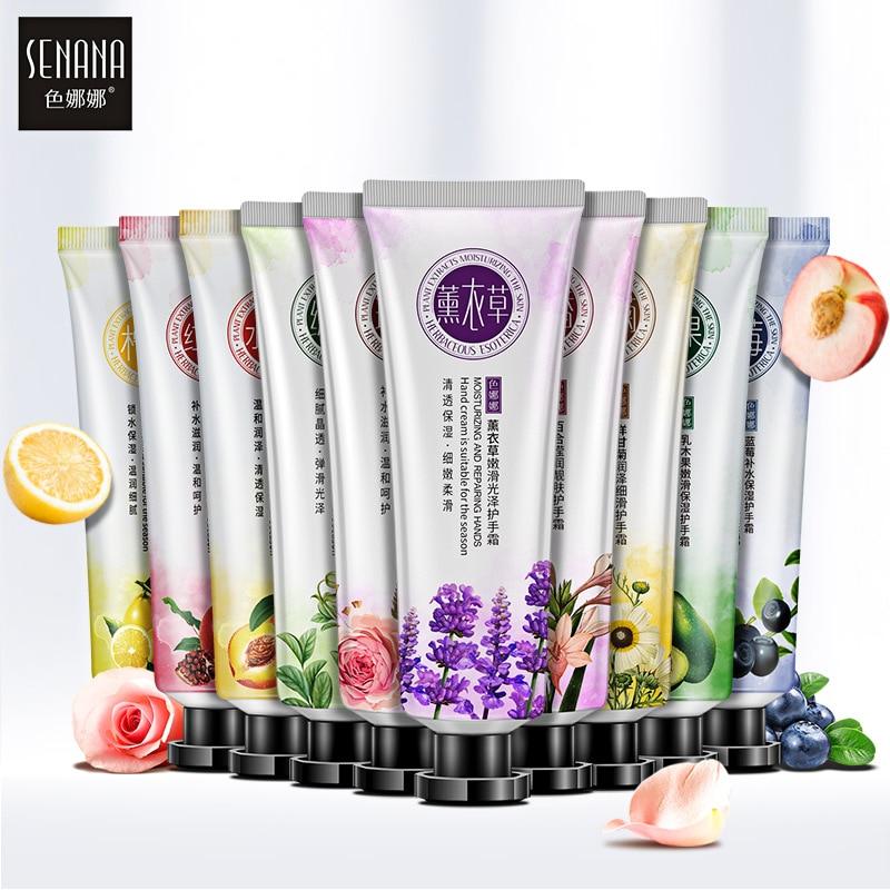 Senana Moisturizing Hand Cream Plant Extract Natural Skin Care Oil-control Nourishing Antibacterial Anti-chapping Hand Cream