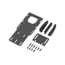 1:10 RC Crawler Low Center of Gravity Battery Bracket Metal Battery Esc Relocation Plate for Axial SCX10 II Ax90046 RC Car Part gpm racing axial scx10 ii ax90046 aluminium chassis lift up combo