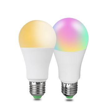 EeeToo RGB Bluetooth LED Smart Bulb E27/B22 15W Smart Light Lamp Intelligent LED Lights Home Lighting Phone Control Light Bulb