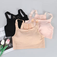 MISTHIN Tube top underwear female no steel ring wrapped chest gathered anti-lighting base sling bra B0063(China)