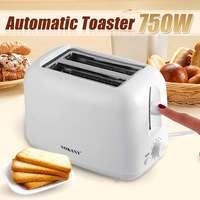 220v 750W Automatische Elektrische Brot Toaster 5 Getriebe Timing Mini Haushalt Frühstück Backen Brot Maker Maschine Küche Werkzeug-in Brot-Macher aus Haushaltsgeräte bei