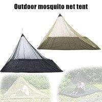 Inseto resistente mosquito net luz dobrável malha tenda para único acampamento ao ar livre pesca montanhismo ya88|Barracas| |  -