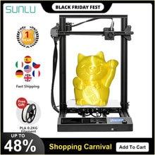 SUNLU S8 FDM 3D принтер большой размер печати PLA ABS PETG 3D Нити Экструдер для повторной печати неисправности питания Настольный 3d принтер