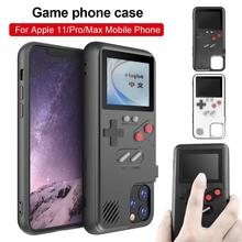New Handheld Game Phone Case Retro 3D Case With 36 Small Game For IPhone 11 Pro Max Full Color Display Phone Cover For IPhone 11 divya shrivastava machine tool reliability