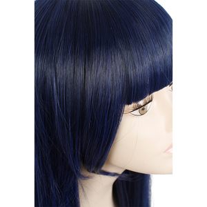 Image 4 - L mail parrucca Sora no Metodo di Shione Togawa Parrucche di Cosplay Lungo Blu Nero Colore Misto Cosplay Parrucca Resistente Al Calore capelli sintetici