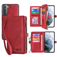 Custodia a portafoglio in pelle PU per Samsung Galaxy M31 S8 S9 S10 S20 S21 Plus Note20Ultra A20E A21S A40 A50 A51 A70 A71 S21FE