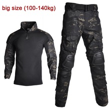 Cargo-Pants Paintball-Clothing Military-Uniform Camouflage-Shirts Combat Army Airsoft