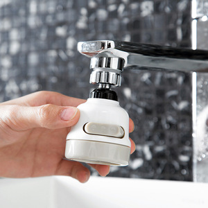 Casa torneira do chuveiro booster torneira de água à prova de respingo filtro torneira da cozinha filtro de água bico dispositivo de poupança de água wy102811