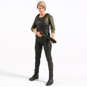 Image 5 - NECA Terminator 6 темная судьба старый телефон/Сара Коннер экшн фигурка Коллекционная модель игрушка