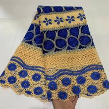 Classic smooth Velvet Guipure Lace Very soft African Cord lace Nigerian Voile  garment cloth Skin Healthy top quality for party guipure lace panel bardot top