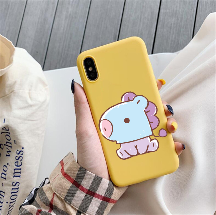 BT 21 Phone Cases for iPhone (11 pro, X, XS, XR MAX, 6, 6s, 7, 8, plus)
