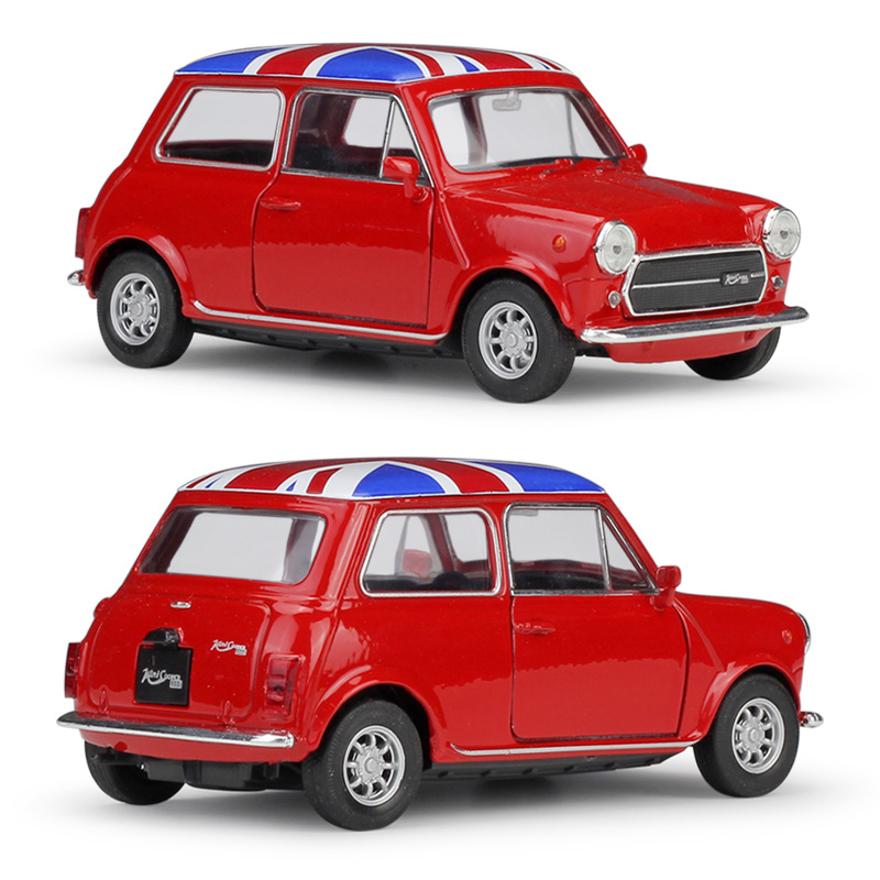 Exquisite 1:36 Mini Cooper 1300 Alloy Model,simulation Die-cast Metal Door Opening And Back Children's Toy Model,free Shipping