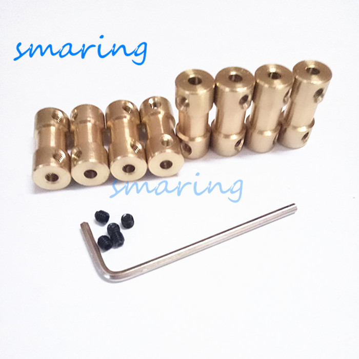 RC Car Boat Model Universal Coupler Joint Coupling Steel Shaft Connector DIY Motor Shaft Fitting Accessory