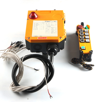 цена на F24-8S waterproof single speed radio industrial crane electric hoist wireless remote control