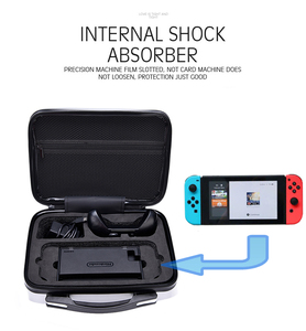 Image 4 - Nintend Switch Storage Bag Suitcase NS Hard Shell Protective Case For Nintendo Switch Console NS Travel Outdoor Carrying Box