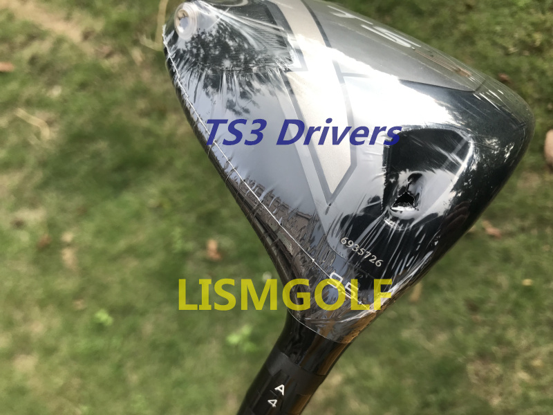 Completely New TS3 Drivers Golf Clubs TS3 Golf Driver Graphite Shafts 9.5/10.5 Degree With Head Cover Fast Free Shipping