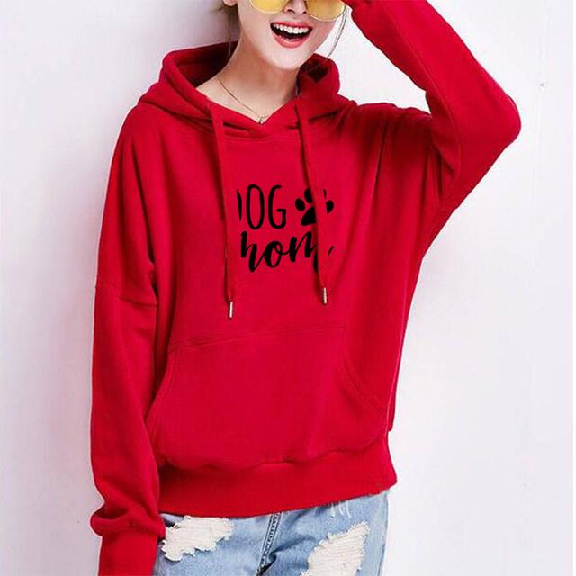 Dog Mom Hoodies Fashion Hoodies Women Kawaii Graphic  Sweatshirt Femmes Pattern  Female Cropped and Sweatshirts  Dog Shirt