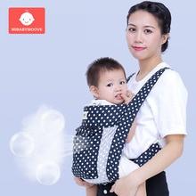 Ergonomic Baby Carrier Cotton Infant Baby Hipseat Sling Front Facing Baby Carrier Sling Wrap Newborn Kids Travel 3-36 Months цена в Москве и Питере