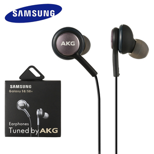 Image 1 - 10 PCS Samsung Earphone 3.5mm In Ear IG955 Mic Wired Headset With Retail Box for Samsung AKG S8 S5 S6 S7 S9 S10 Smartphone