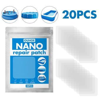 10 20 sztuk Nano łatka wody w basenie Pad namiot wodoodporny specjalny klej na świeżym powietrzu nadmuchiwane koło łatka tanie i dobre opinie CN (pochodzenie) hydrauliczny NONE