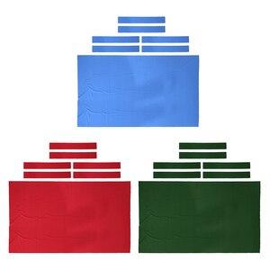 Image 1 - プールテーブルフェルトビリヤード布交換 8 フィートのテーブルのカジュアルプレーヤー選択に最適色