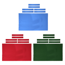 Fieltro para mesa de billar, repuesto de tela de billar para mesa de 8 pies, perfecto para el jugador Casual, colores exclusivos