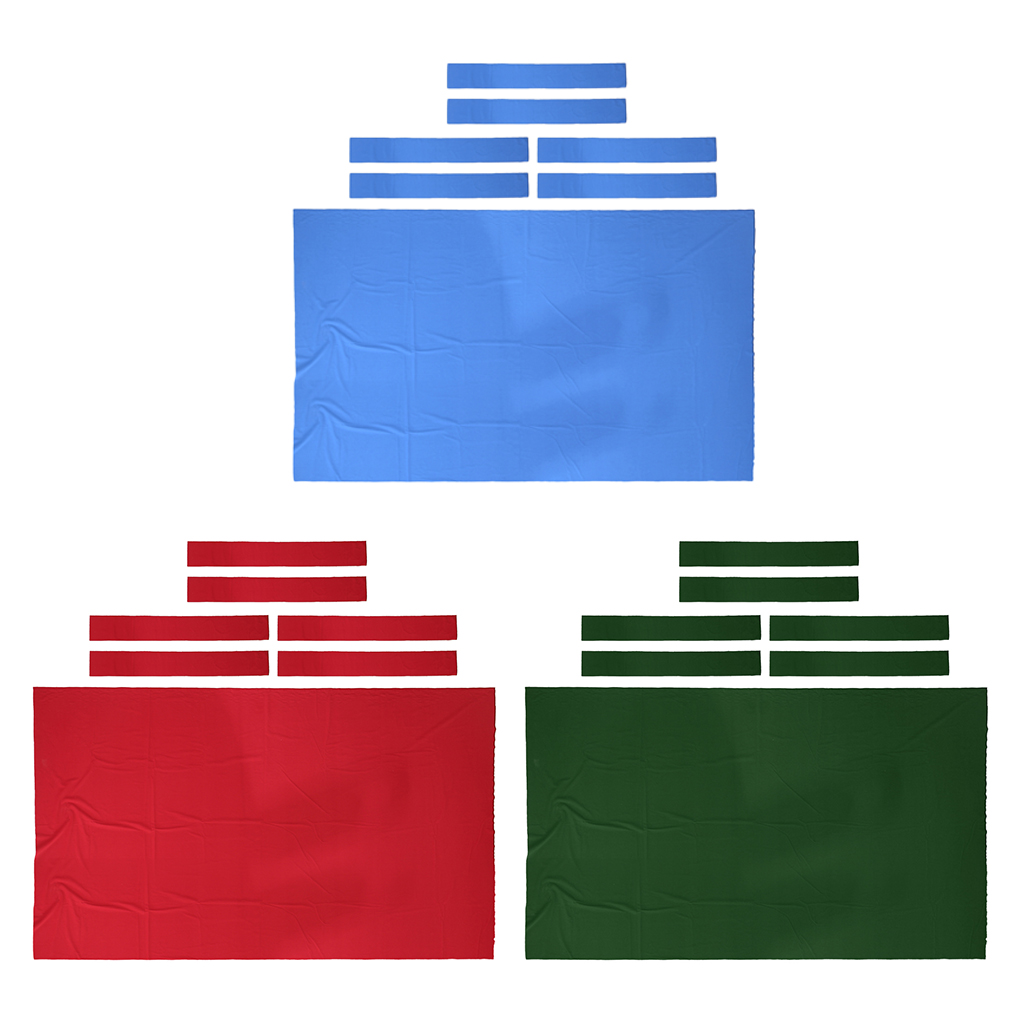 Pool Table Felt - Billiard Cloth Replacement - For 8 Foot Table - Perfect For The Casual Player - Select Colors