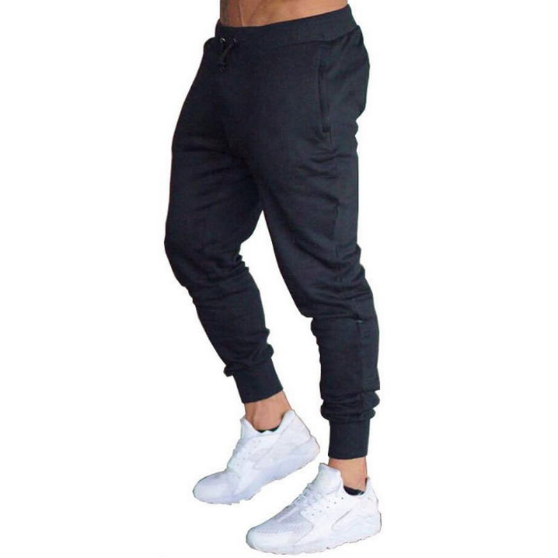2020 Men's High Quality Brand Men Pants Fitness Casual Elastic Pants Bodybuilding Clothing Casual Sweatpants Joggers Pants