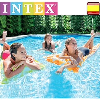 Comoda-colchoneta hinchable para playa o piscina, sillón hinchable, intex