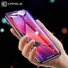 CAFELE 9D Edge Screen Protector for iPhone 11 pro Max Phone Tempered Glass HD Clear Anti Glare Full Covering