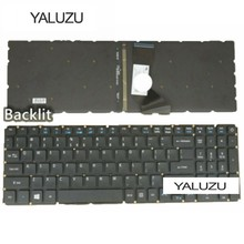 Yaluzu Aksesoris Laptop New US Laptop Keyboard For Acer Aspire E15 E5-576 E5-576G E5-576G-5762 E5-576G Kami Keyboard dengan Backli(China)