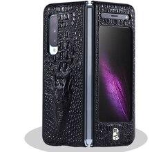 가죽 전화 케이스 Shockproof 보호 다시 커버 쉘 삼성 W20/폴드/F9000 휴대 전화 액세서리