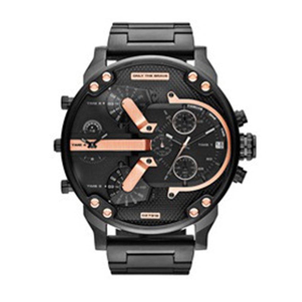 Fashion Men Stainless Steel Analog Quartz Wrist Watch Bracelet Mens Watches Big Size Automatic Mechanical Clock Hot